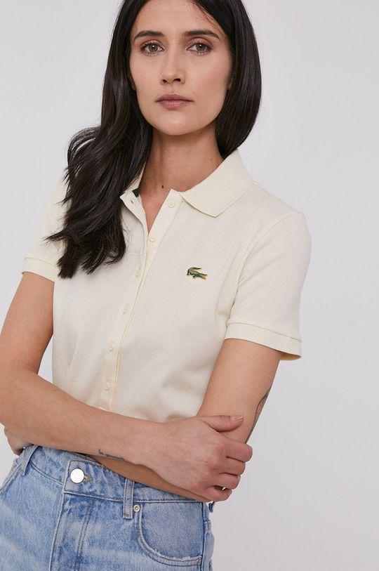 béžová Lacoste - Tričko