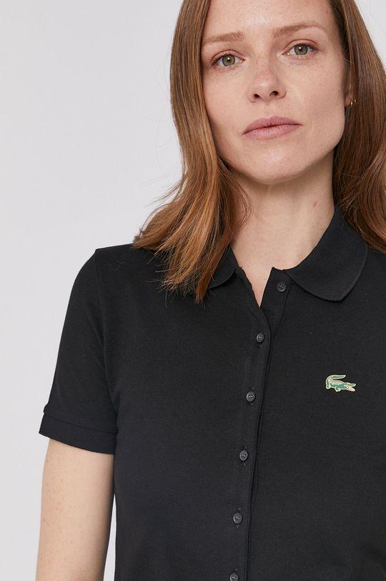 negru Lacoste - Tricou De femei
