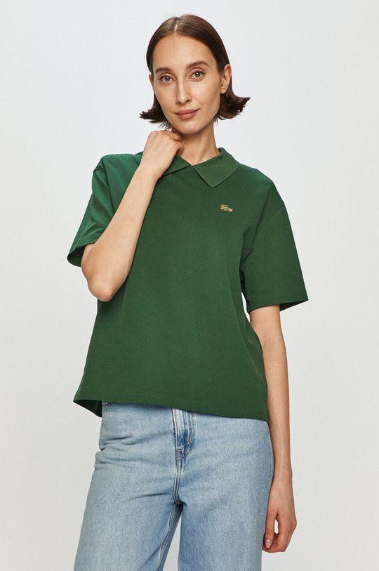 zielony Lacoste - T-shirt Damski