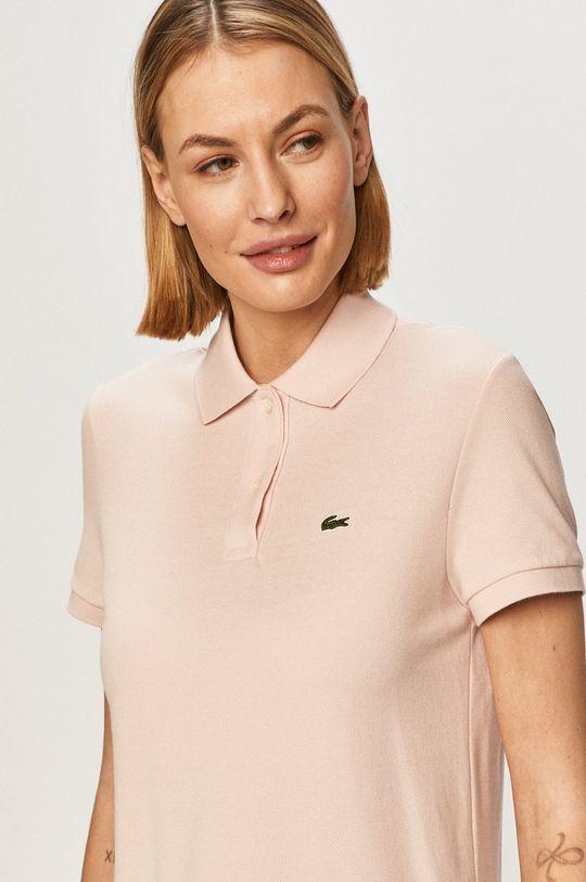 ružová Lacoste - Tričko
