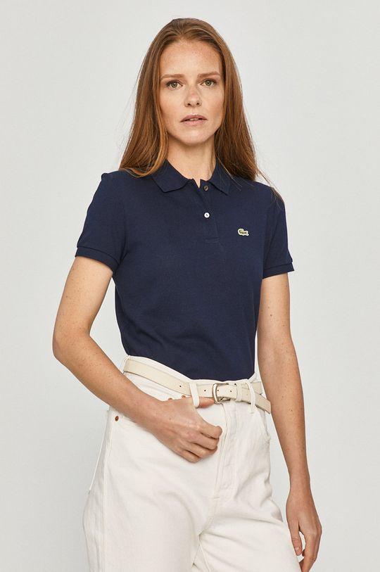 námořnická modř Lacoste - Tričko Dámský