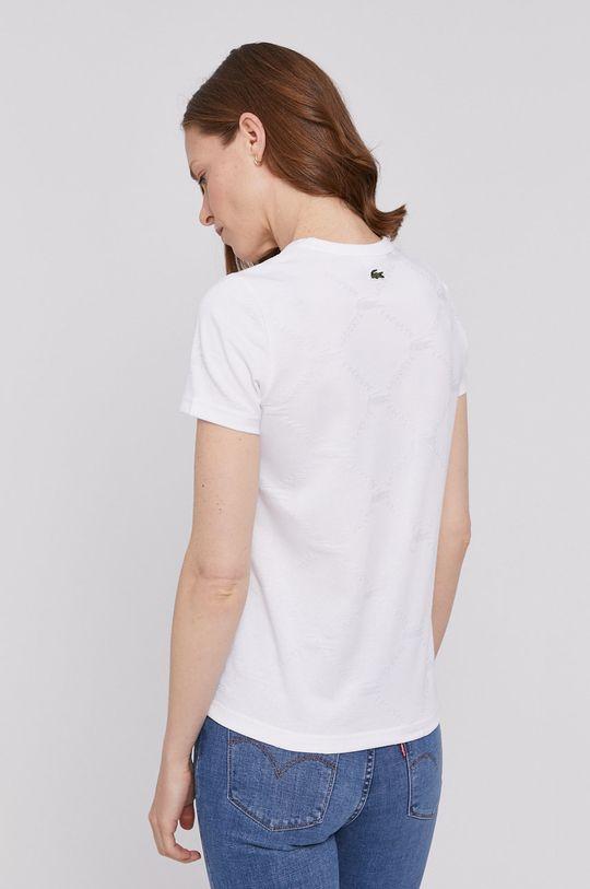 Lacoste - T-shirt Wypełnienie: 97 % Bawełna, 3 % Elastan, Materiał zasadniczy: 58 % Bawełna, 42 % Poliester