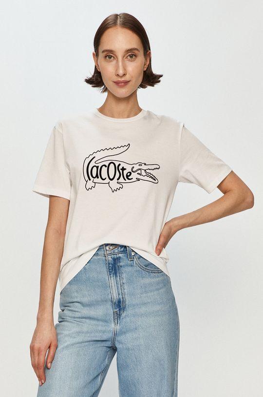 bílá Lacoste - Tričko Dámský