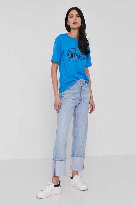 Lacoste - T-shirt niebieski