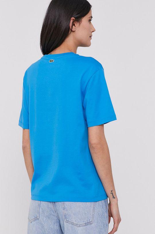 Lacoste - T-shirt 5 % Elastan, 95 % Wiskoza