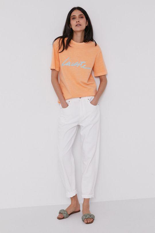 portocaliu Lacoste - Tricou De femei