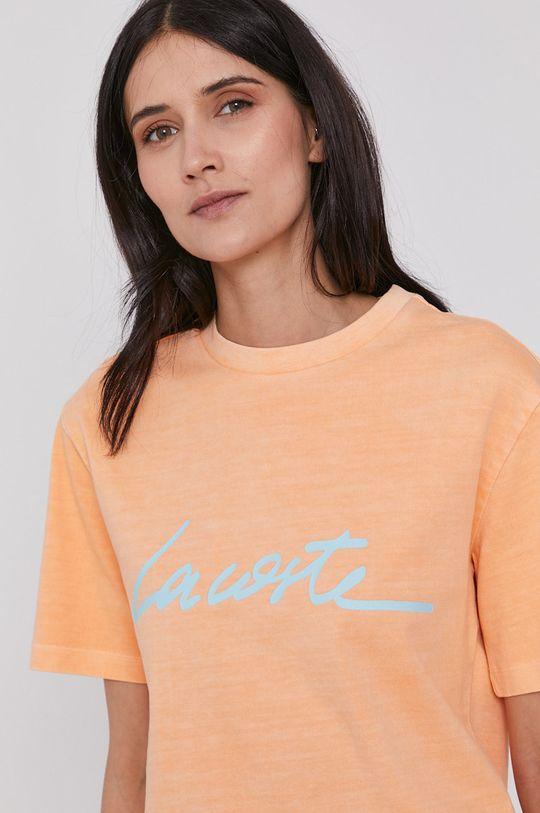 portocaliu Lacoste - Tricou