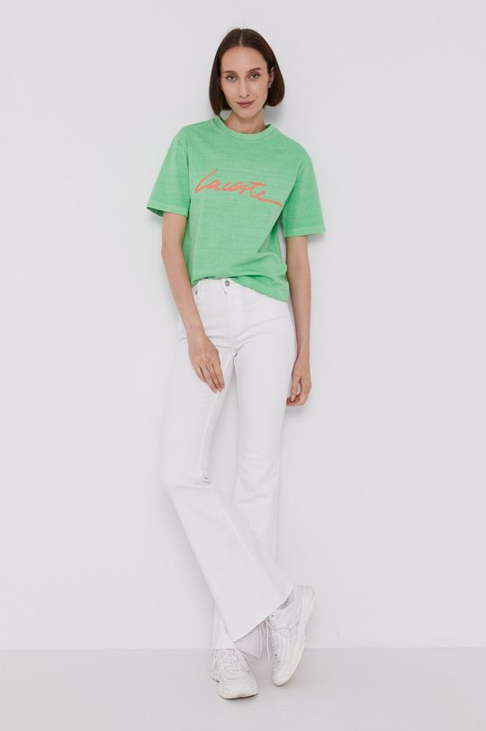 Lacoste - Tričko svetlozelená