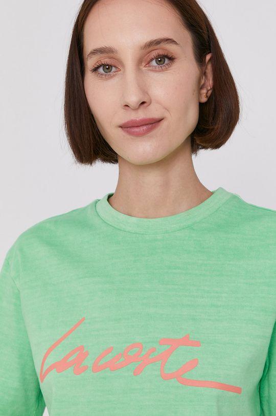 svetlozelená Lacoste - Tričko