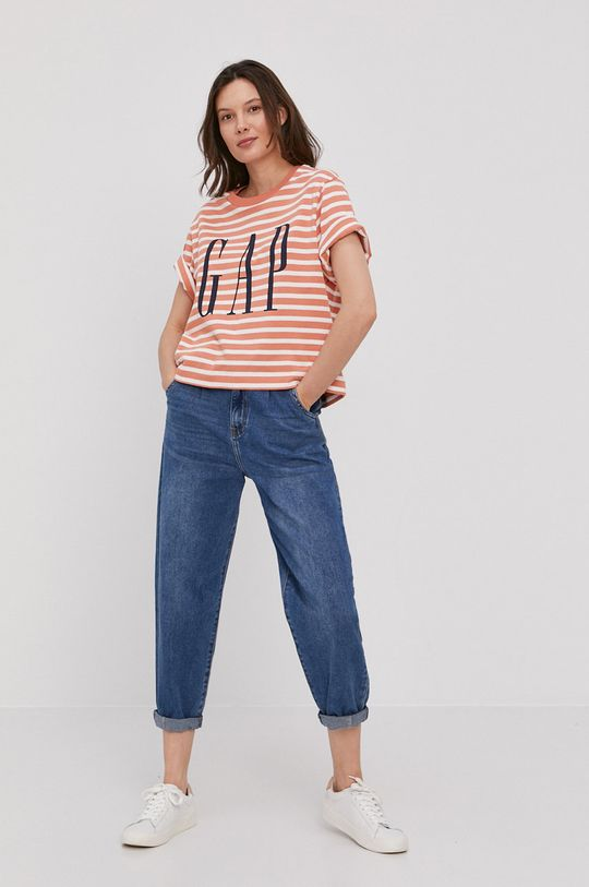 GAP - T-shirt pomarańczowy