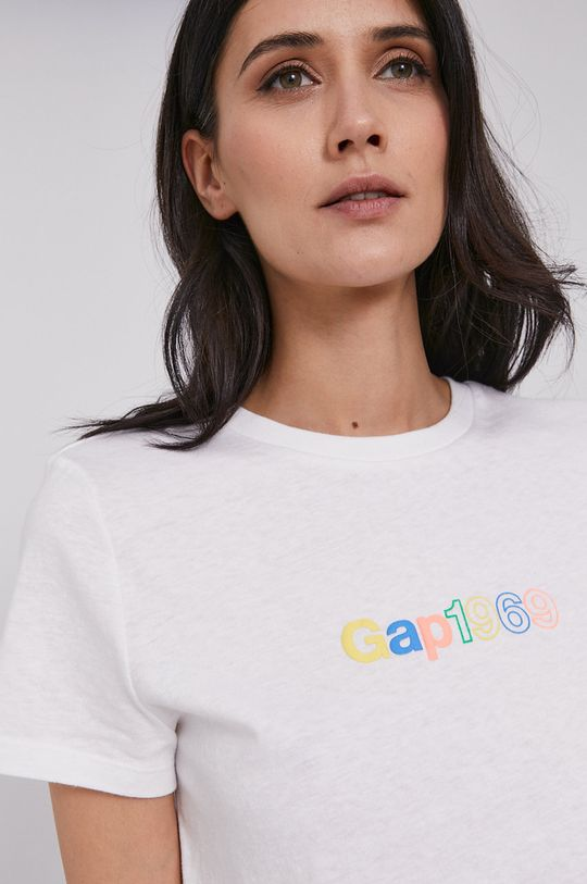 biały GAP - T-shirt