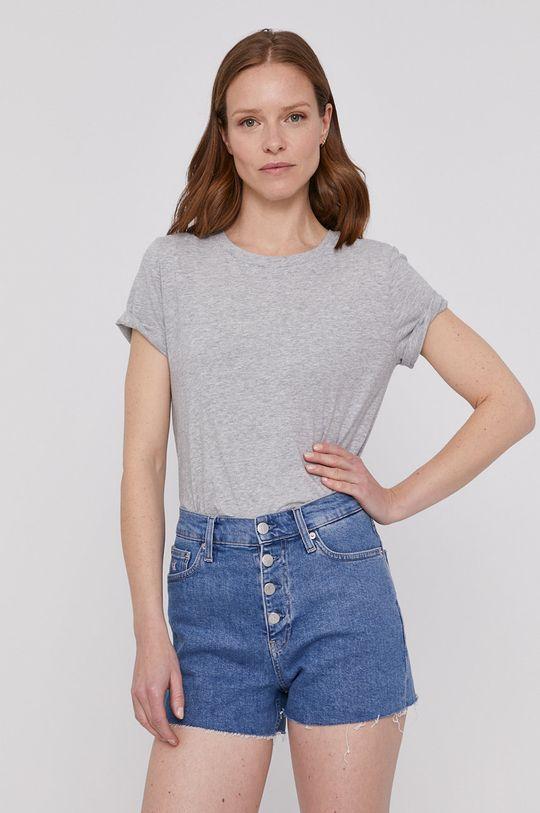 szary GAP - T-shirt Damski