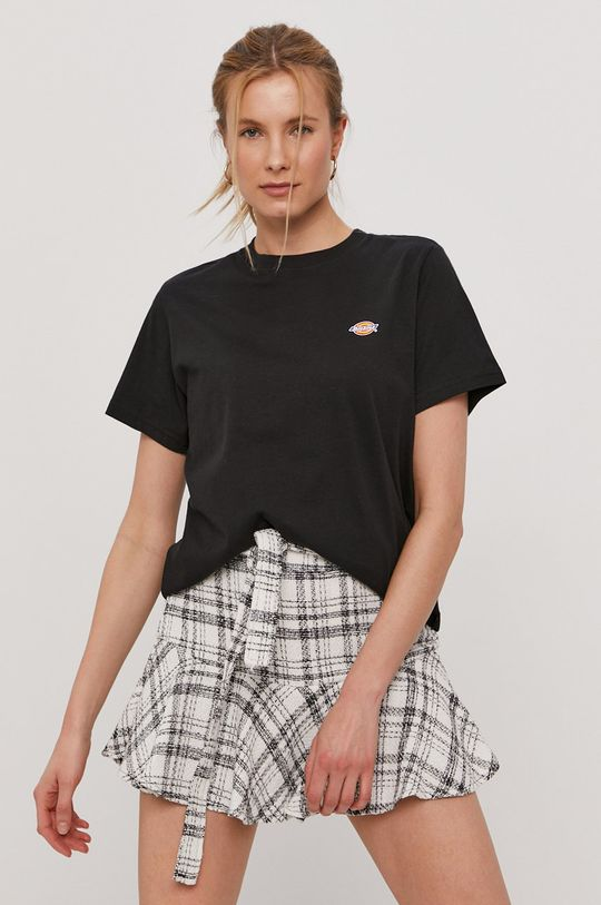 czarny Dickies - T-shirt Damski