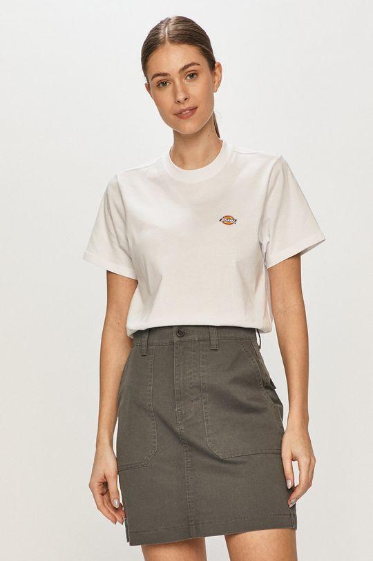 biały Dickies - T-shirt Damski