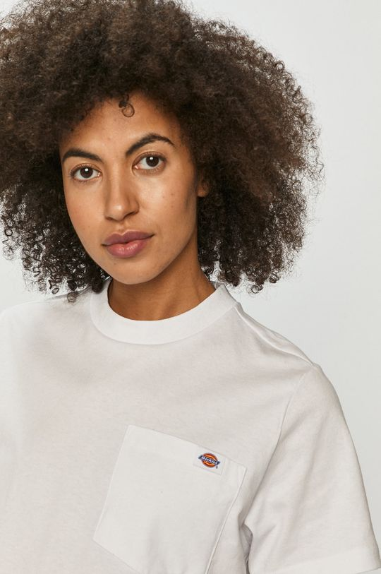 biały Dickies - T-shirt