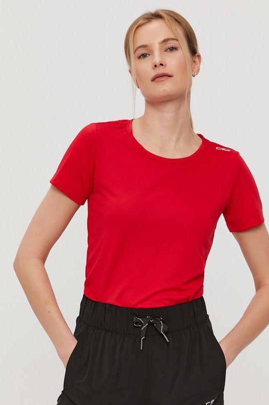 czerwony CMP - T-shirt Damski