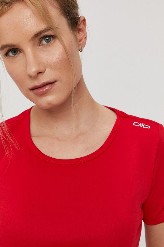 czerwony CMP - T-shirt