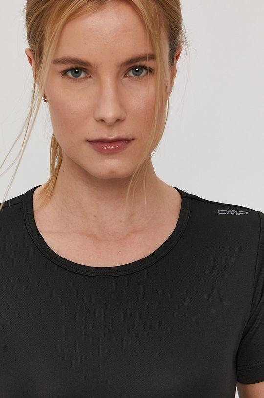 czarny CMP - T-shirt
