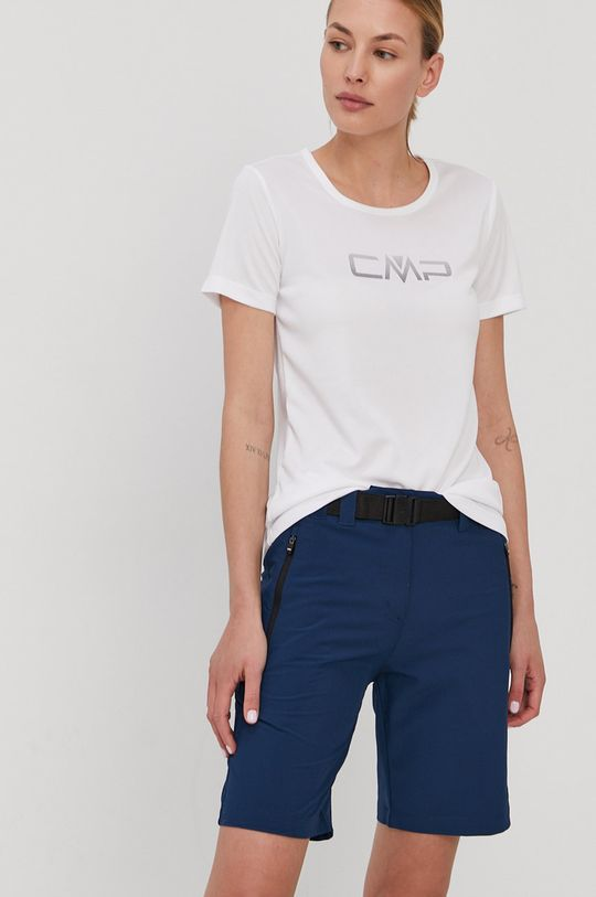biały CMP - T-shirt Damski