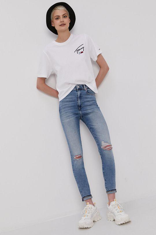 Tommy Jeans - Tričko biela