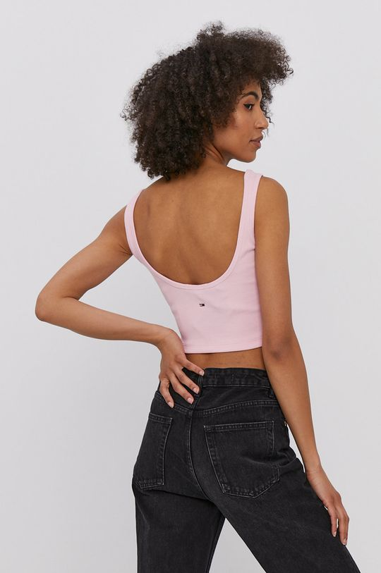 Tommy Jeans - Top  96% Bumbac, 4% Elastan
