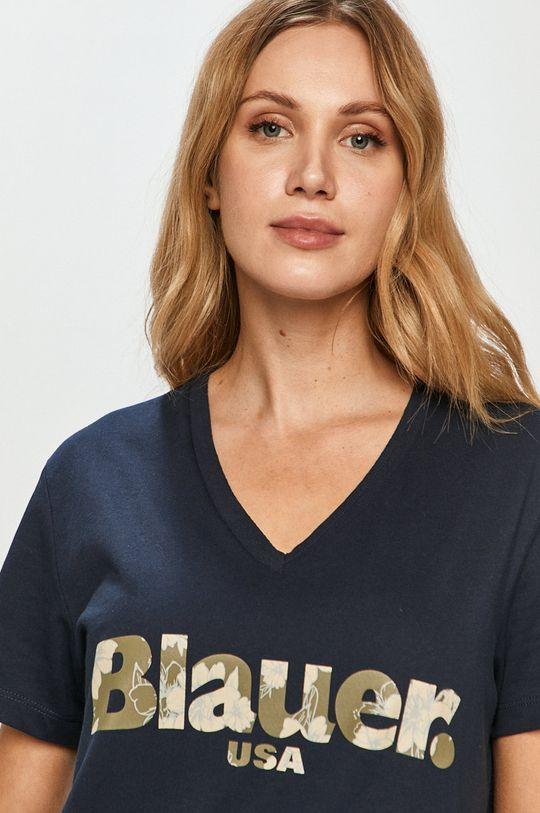 námořnická modř Blauer - Tričko