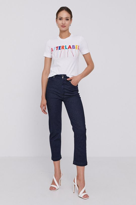 After Label - T-shirt biały