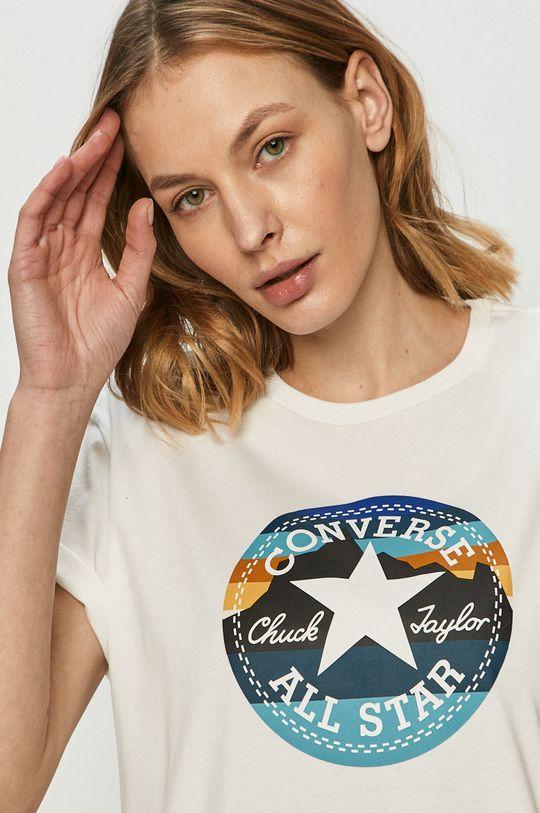 bílá Converse - Tričko
