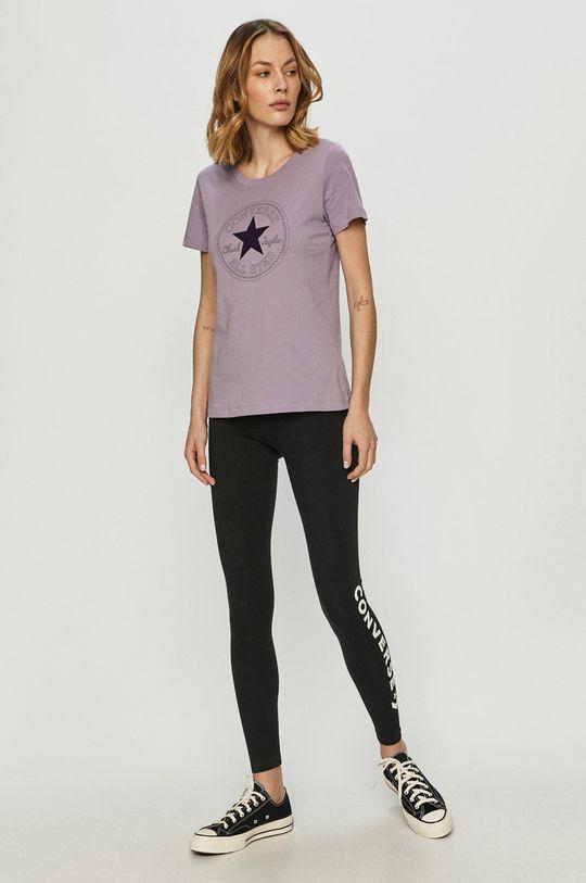 Converse - Tričko fialová