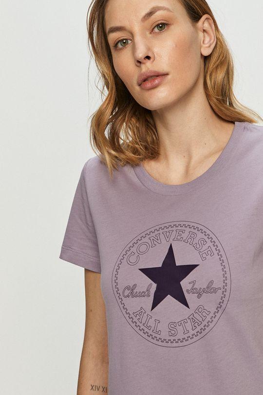 fialová Converse - Tričko