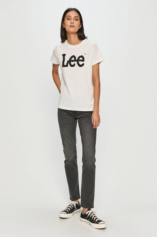 Lee - Tričko biela