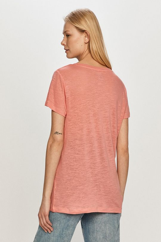 Lee - T-shirt 40 % Len, 60 % Lyocell
