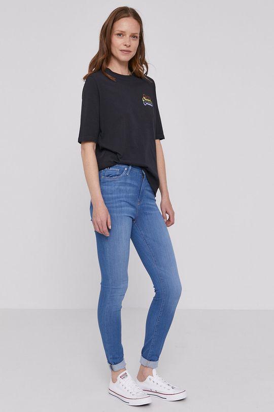 Lee - T-shirt PRIDE czarny