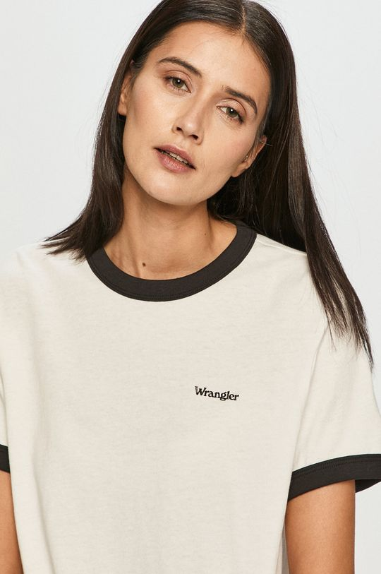 biela Wrangler - Tričko