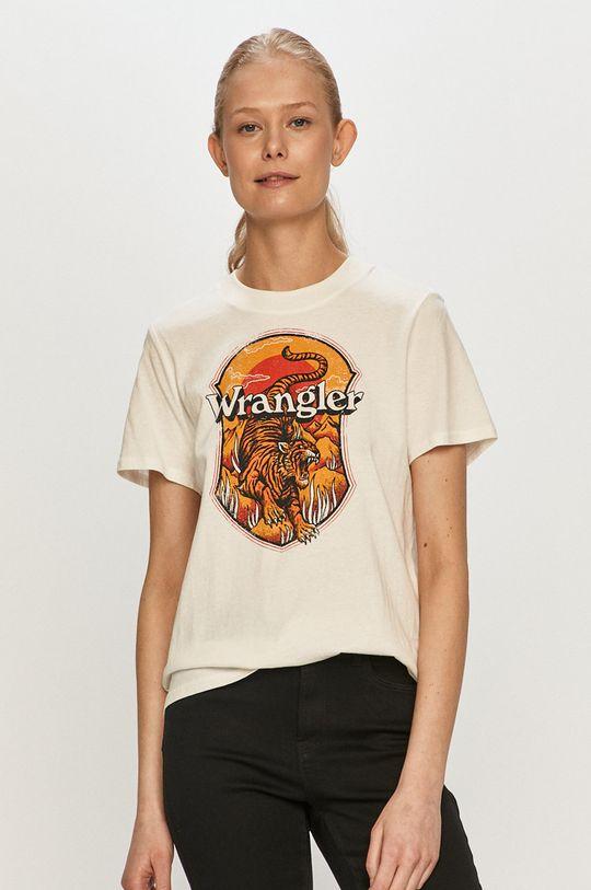 bílá Wrangler - Tričko Dámský
