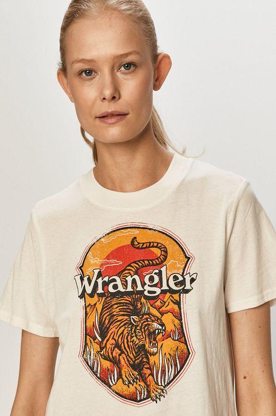 bílá Wrangler - Tričko