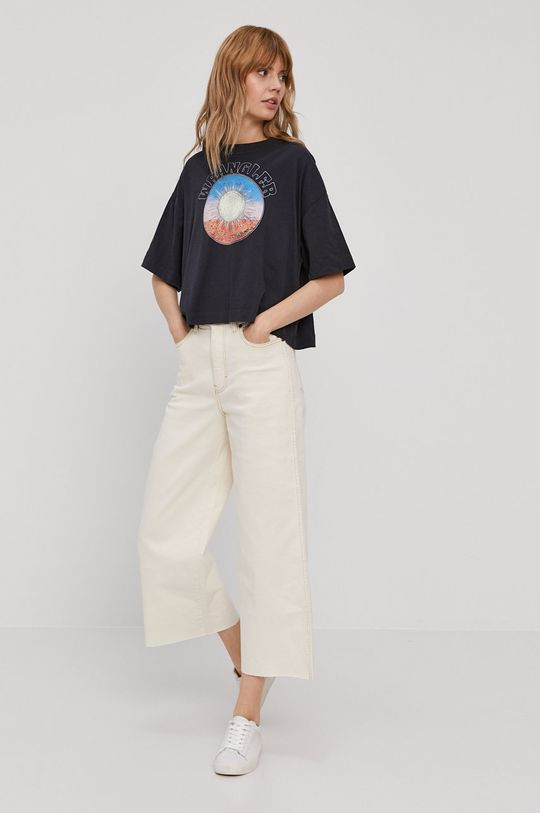 Wrangler - T-shirt czarny