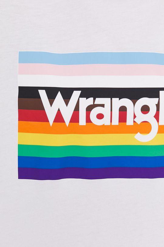 biały Wrangler - T-shirt PRIDE