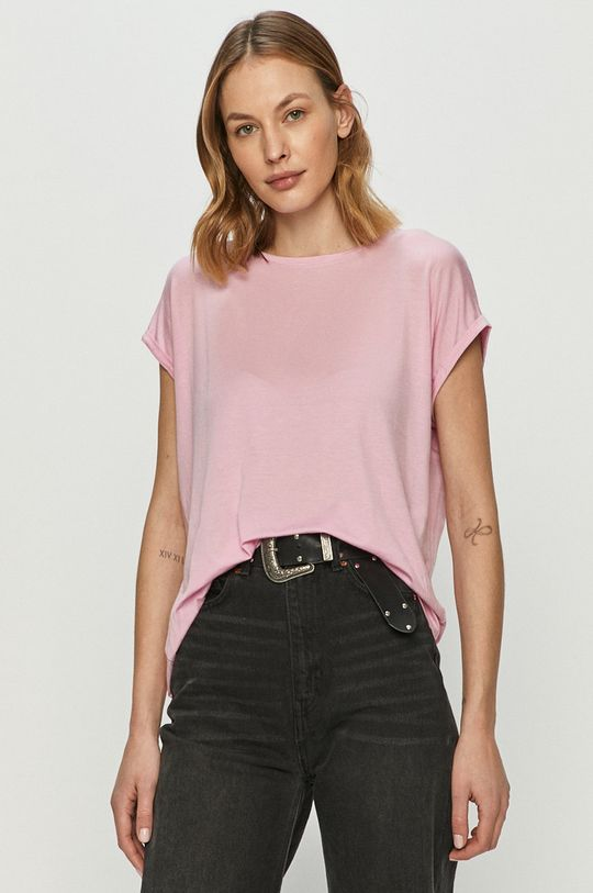 różowy Vero Moda - T-shirt Damski