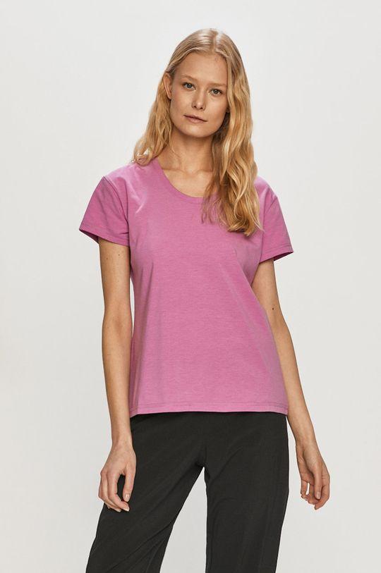 fioletowy Columbia - T-shirt Damski