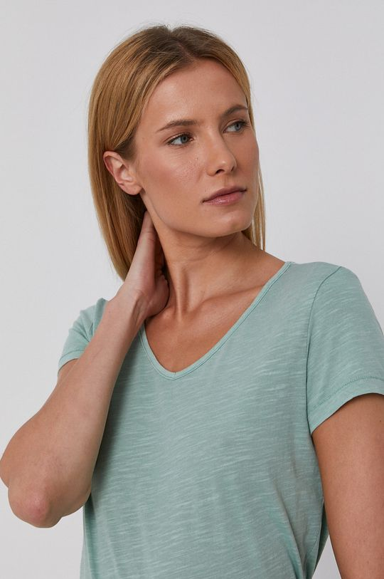 zelená Mustang - Bavlněné tričko