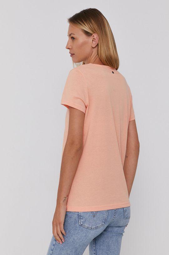 Mustang - T-shirt bawełniany 100 % Bawełna