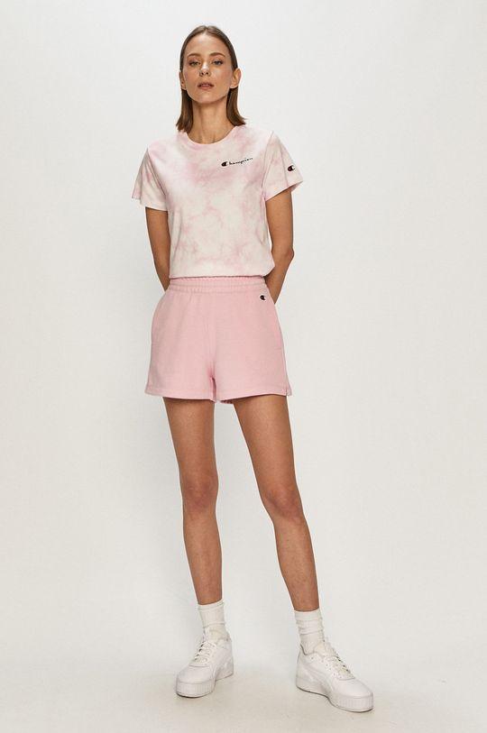 Champion - T-shirt różowy