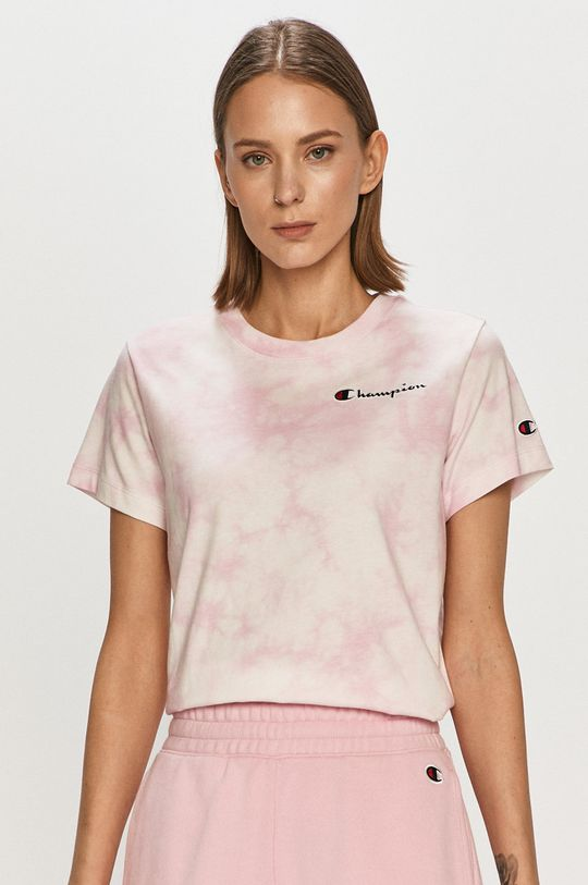 różowy Champion - T-shirt