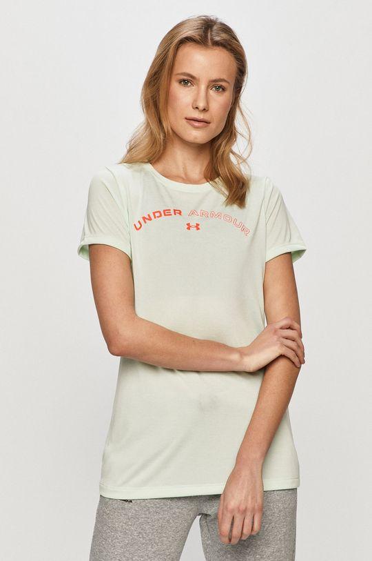 blady turkusowy Under Armour - T-shirt Damski