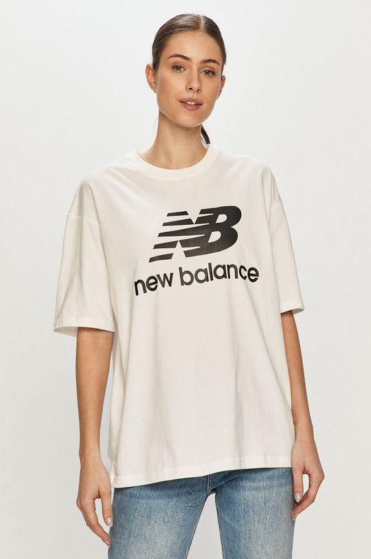 New Balance - Tričko bílá