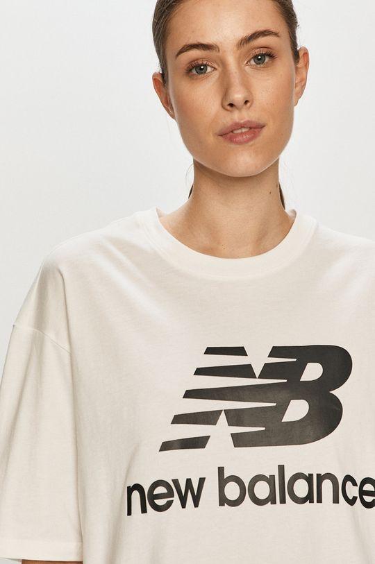 bílá New Balance - Tričko