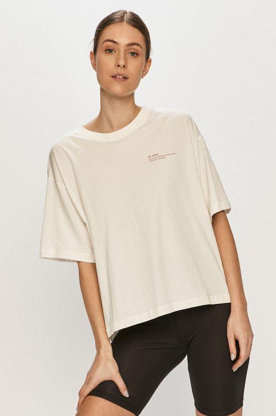 biały Dr. Denim - T-shirt Damski