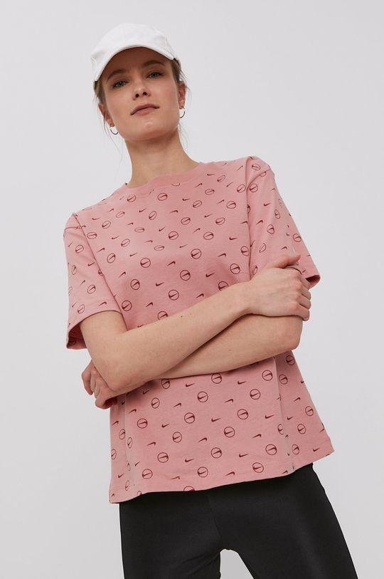 sýto ružová Nike Sportswear - Tričko Dámsky