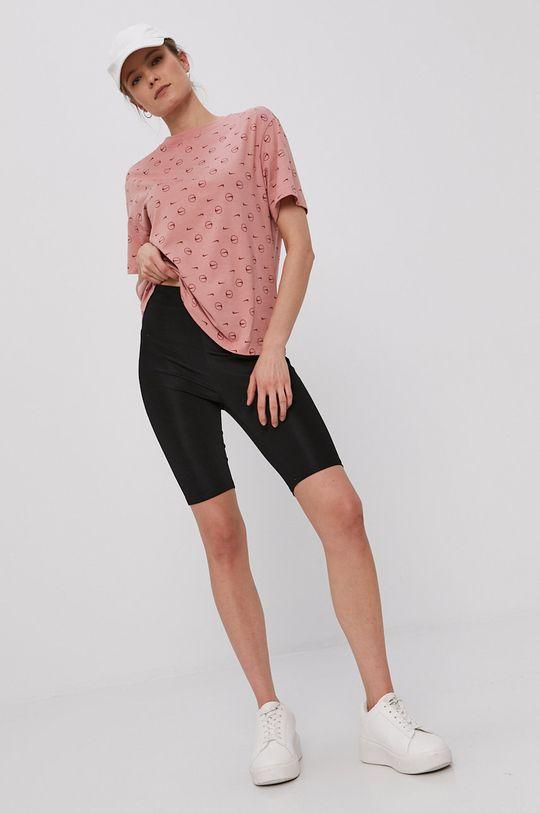Nike Sportswear - Tričko sýto ružová